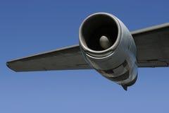 2 wing jet silników Obrazy Stock