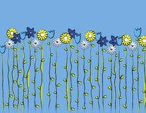 2 wiosny, ilustracja wektor