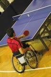 2 świstów pong gracza Zdjęcia Royalty Free