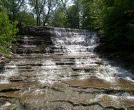 2 wodospad slatestone Zdjęcia Royalty Free