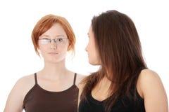 2 womans молодого Стоковые Фото