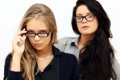 2 womans молодого Стоковое Фото