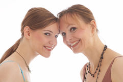 2 women Royalty Free Stock Image