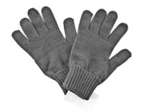 2 woolly gloves Royalty Free Stock Photography