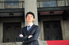 2 wykonawczego azjatykciego young Obraz Stock