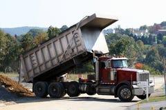 2 wysypiska ciężarówka Fotografia Stock