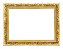2 złoty ramowego Obraz Stock