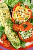 2 zachwytów warzyw Fotografia Royalty Free