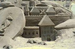 2 zamek z piasku Obraz Royalty Free