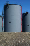 2 zbiornika oleju Zdjęcie Royalty Free