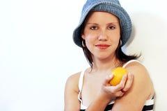 2 zdrowych owoców Obrazy Stock