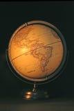 2 ziemskich kul świat Obrazy Stock