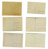 20世纪年纪明信片 库存照片