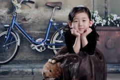 20世纪20年代的中国女孩 免版税库存照片