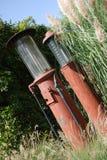 20世纪30年代加油泵 免版税库存图片