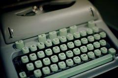 20世纪50年代打字机葡萄酒 图库摄影