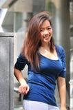 20个亚洲人夫人办公室 图库摄影