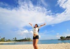 20个海滩乐趣 库存照片