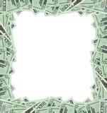 20个票据美元框架 免版税图库摄影