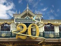 20周年纪念迪斯尼乐园巴黎 免版税库存图片