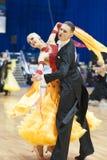 20对夫妇舞蹈可以未认出的米斯克 库存照片