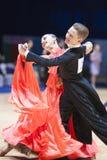 20对夫妇舞蹈可以米斯克程序标准 库存照片