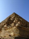 20座吉萨棉金字塔 库存图片