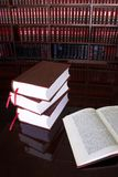 20 βιβλία νομικά στοκ φωτογραφίες