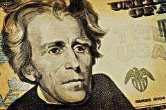 20 постаретое доллар счета Стоковые Фотографии RF