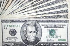 20 долларов jackson Стоковые Изображения RF