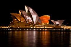 20 2010 domowa Styczeń opera Sydney Zdjęcia Royalty Free