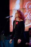 20 2011颂歌圣诞节音乐会 库存照片
