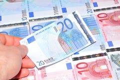20 евро Стоковое Изображение RF