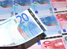 20 евро Стоковые Изображения RF