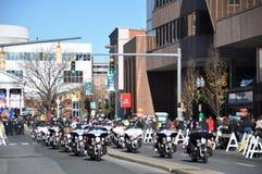 第20每年瑞银感恩游行壮观,在斯坦福德,康涅狄格 库存照片