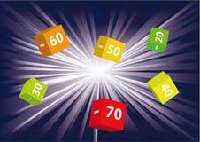 20 70 sprzedaży Fotografia Stock