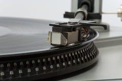 20 años con estilo de placa giratoria vieja Imágenes de archivo libres de regalías