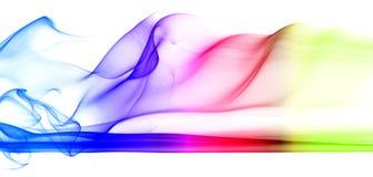 20 abstrakcjonistyczny serii dym Zdjęcia Royalty Free
