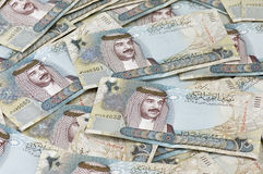 20 Bahraini Dinar Notes royalty free stock images