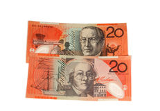$20 bills Royalty Free Stock Photography