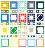 20 blocchi per grafici Fotografia Stock Libera da Diritti