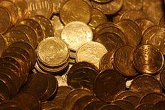 20 cent euro coins. A lot of euro coins Royalty Free Stock Photos