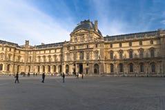 20 cieszą się louvre marszu Paris turystów Zdjęcie Royalty Free
