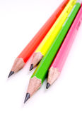 20 crayons Photos libres de droits