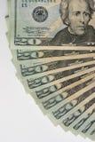20 dólares Imagens de Stock