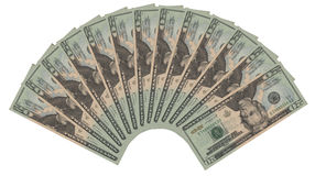 20 Dollar Lizenzfreies Stockfoto