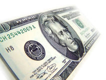 20 dollar bill. A concept image of a close up 20 dollar bill royalty free stock image
