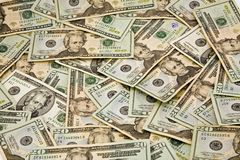 $20 Dollar Bills Royalty Free Stock Image