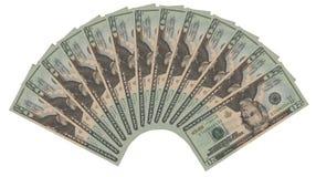 20 dollari Fotografia Stock Libera da Diritti