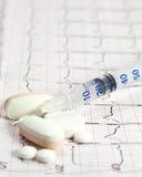20 eenheden van insuline Royalty-vrije Stock Fotografie